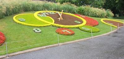 Geneva Floral Clock